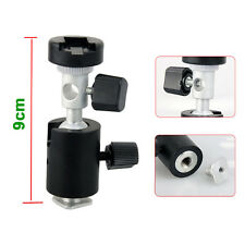 360° Swivel Ball Head Umbrella/Flash Mount/Holder/Bracket C Light Stand Tripod