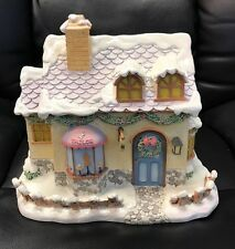 Precious Moments SEW SWEET TAILORS Christmas Village LIGHTED House