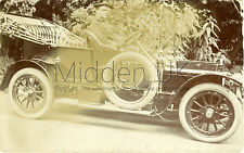 RA422 Early RP POSTCARD Vintage Wolseley Siddeley Car - I think