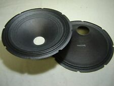 "Pair 15"" EV / Electro Voice Paper Cones - Speaker Parts -- DL15ST -- 73666"