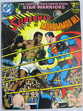 Superman vs Muhammad Ali C-56 Limited Collectors Edition Excellent Copy. RIP Ali