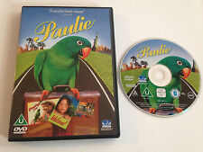 PAULIE DVD ~ 2001 DreamWorks Parrot Family Comedy UK DVD - GENA ROWLANDS