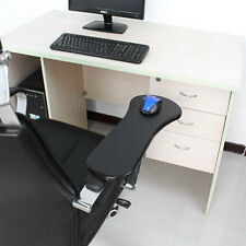Double Attachment Ergonomic Computer Arm Support Mouse Pad For Chair/Desk