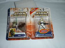 CLONE WARS: Value Pack - YODA 'Army of the Republic' + CLONE TROOPER COMMANDER