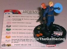 CAPTAIN AMERICA AND BLACK WIDOW #017 The Winter Soldier Marvel HeroClix Chase
