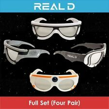 Complete Set Star Wars VII The Force Awakens Real D 3D Glasses Limited Edition