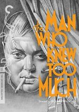 CRITERION COLLECTION: THE MAN WHO KNEW TOO MUCH - DVD - Region 1 - Sealed