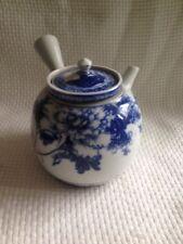 Antique Chinese Porcelain Blue&rehire Tea Pot