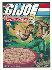 G.I. JOE Cereal Box Retro Vintage HQ  Fridge Magnet *02