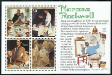 US painter souvenir sheet