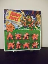 RARE ARMY ANTS GENERAL PATANT SPECIAL FORCE TEAM NEW NIB 1987 HASBRO 8 FIGURES