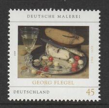 Germania 2009 ARTE Natura morta con ciliegie SG 3623 Gomma integra, non linguellato