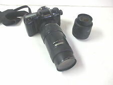 Pentax ZX-10 Film Camera w/ Pentax 35-80mm & 100-300mm Lenses - Used Good Cond.