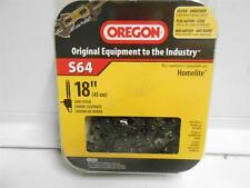 "OREGON S64 18"" SAW CHAIN FITS HOMELITE ISO 9001"