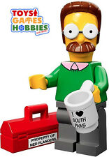 *NEW* LEGO Minifigure Series 1 The Simpsons -#7 Ned Flanders -Sealed Foil Bag