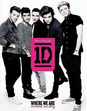 One Direction - Where We Are - Our Band, Our Story - HC w/DJ 1st PRINT 2013