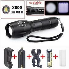X800 Tactical Flashlight LED Military 2000LM Alonefire 5-Modes Taschenlampen