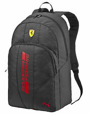 AUTHENTIC PUMA SCUDERIA FERRARI F1 TEAM 2016 BLACK BACK PACK 073956 02