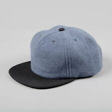 Norse Projects Wool 2 Tone Flat Cap in Blue Black New With Tags M-XL