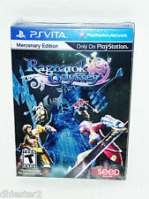 RAGNAROK ODYSSEY MERCENARY Limited Edition Collector Set PS VITA PSV BRAND NEW