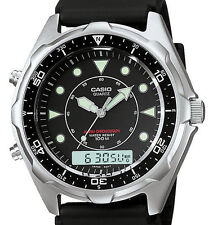Casio Marine Gear Analog Digital Sports Watch AMW320R-1EV Wristwatch for Men