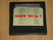GEAR 20 IN 1 CARTRIDGE CARTUCHO MULTIGAMES PARA LA SEGA GAME GEAR USADO