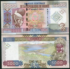 Guinea - 5,000 Francs - Commemorative UNC currency note - 2010 issue