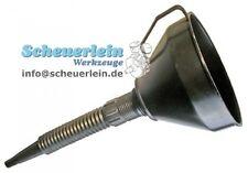 Einfülltrichter mit Sieb - Kunststoff / Trichter Öl Motoröl auffüllen Ölwechsel
