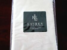 2 New Ralph Lauren Almond Ivory King Pillowcases