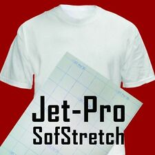 JET-PRO SofStretch inkjet ink Heat Transfer Paper 8.5x11 50 iron on heat press:)