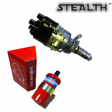 Stealth Electronic 43D lucas type Sport Distributor & Power Red Sports coil