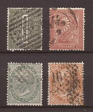 1866 V. E. II c. 1 + 2 + 5 + 10 - Tiratura di Torino - USATI E PERFETTI € 21,00