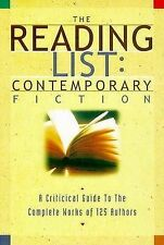 The Reading List: Contemporary Fiction: A Critical Guide to the Complete...
