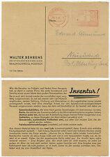 35875 - Freistempel: Braunschweig 21.1.1943 - Briefmarkenhandlung Walter Behrens