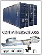 Containerschloss Lagercontainer Verschluss Containerverrigelung verchromt neu