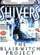 SHIVERS MAGAZINE #70 BLAIR WITCH PROJECT POSTER, STIGMATA, BRAINDEAD, PHANTASM