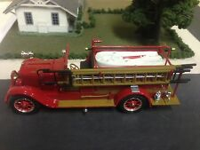 1 NEW 1/32 SCALE DIECAST 1928 REO FIRE TRUCK/ FIRE PUMPER PLEASANT PLAINS