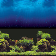 "Vepotek Aquarium 72""W X 24""H Background Double sides (Deep Sea/Water Plants)"