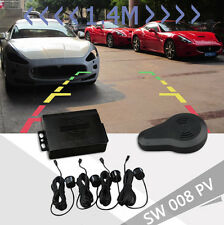 Visible Car Parking Sensor Reverse Backup Radar Detector With DVD& Camera Cable