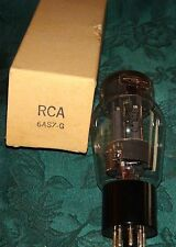 1968 Vintage Very Strong & Balanced Rca 6as7g  Vacuum Tube 4500/4550