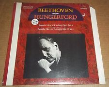 Bruce Hungerford BEETHOVEN Piano Sonatas 1 & 2 - Vanguard VCS 10084 SEALED