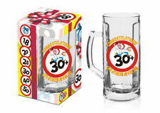BIRTHDAY PARTY GIFT PRESENT - BEER MUG 30th  - TANKARD PINT PARTY PARTY GLASS