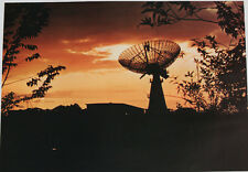"""adc space tracker satelite sunset 17x23"""" print US AIR FORCE photo"""