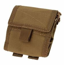 CONDOR MOLLE Modular Tactical Nylon Roll-Up Utility Pouch ma36-498 COYOTE BROWN
