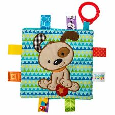 TAGGIES Crinkle Me Brother Puppy Colourful Crinkle Soother Buggy/Stroller Toy