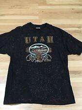 Vintage 1992 Utah XL T Shirt Retro Throwback Salt Lake City Hipster Indie Rock