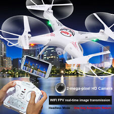 SHENGKAI D97 RC Quadcopter with WIFI FPV HD Camera 4CH 2.4G 6 Axis Drone White