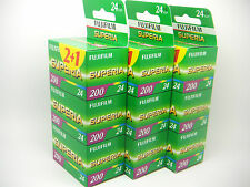 9 x FUJI SUPERIA 200 35mm 24 Exp CHEAP COLOUR PRINT FILM 1st CLASS ROYAL MAIL
