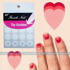 5 Pack Nail Art Tip French Guide Circles Striping Tape Decoration Line Sticker