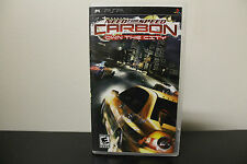 Need for Speed: Carbon -- Own the City  (PlayStation Portable, 2006) *Tested